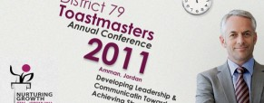 DTAC – District 79 Toastmasters Annual Conference 2011, Amman, Jordan