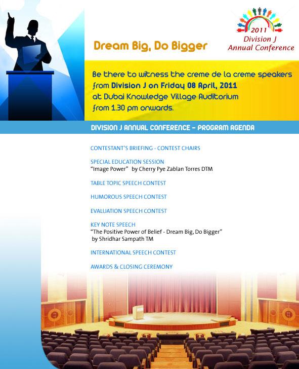 Agenda for Div J Conference