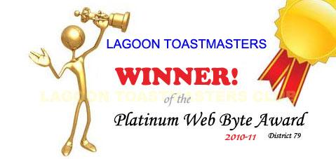 Platinum Web Byte Award winner