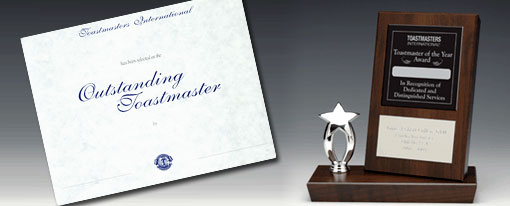 Outstanding Toastmaster of the Year