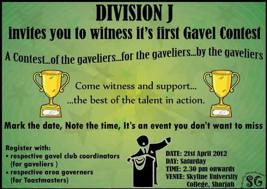 Gavel Contest