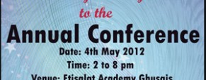 Division J, District 20 – Annual Conference, Dubai on 4th May