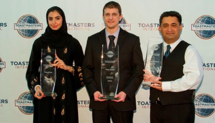 2013 International Speech Contest Winners