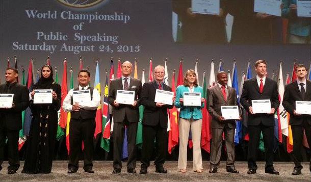 2013 International Speech Contest